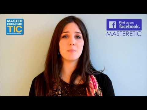 Master Economie des TIC (Internet Telecom Media) - Montpellier