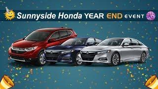 Sunnyside Honda - Year End Sales Event 2018