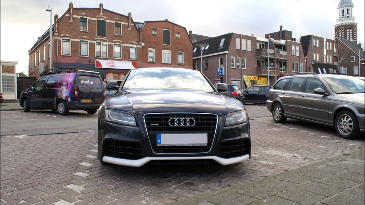 audi a5 with rieger bodykit slideshow youtube. Black Bedroom Furniture Sets. Home Design Ideas