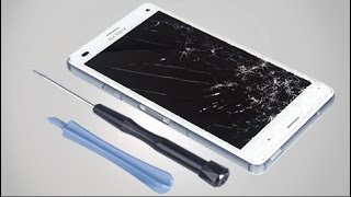 how to replace sony xperia z3 compact lcd screen repair tutorial