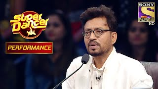 "Shagun And Vivek's ""Reverse-Act"" Performance Stunned Irrfan Khan | Super Dancer Chapter 2"