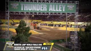 Monster Jam World Finals XVIII   Racing   Sunday, April 9th on FS1