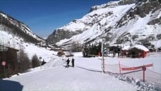 Le printemps du ski à Val d'Isère