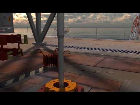 Offshore Animation | Amerada Permanent Monitoring Systems by Sercel | Drilling Animation