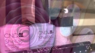 CND Shellac ombré