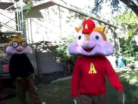 Alvin and the Chipmunks at Dominic's 2nd Birthday Party