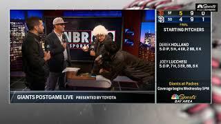 Fake KNBR Wrap | Giants Postgame Live
