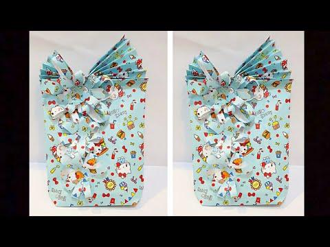Cara Membungkus Kado Tanpa Kotak | Gift Wrapping Ideas | Ide Kreatif | Diy Paper | Diy #48
