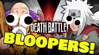 Roshi VS Jiraiya BLOOPERS!