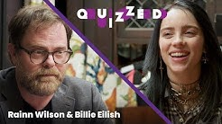 Billie Eilish gets QUIZZED by Rainn Wilson on The Office' | Billboard