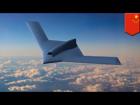 China unveils new stealth combat drone - TomoNews