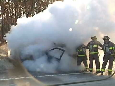 BOURNE, MA- Falmouth teachers pull man from burning SUV