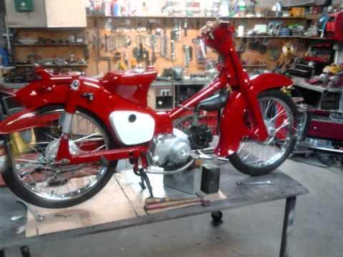 Honda C50 Restoration 1971