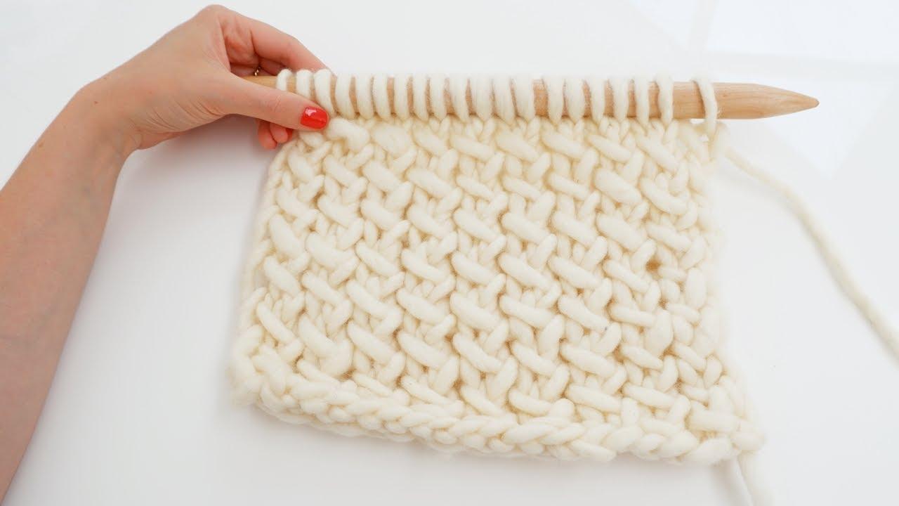 d2868689b7cd Tricot - Apprendre à tricoter le point croisé - YouTube