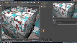 60. Видеотуториал по Cinema 4D: Генератор дисплейсмент карт JSplacement (Physical, Octane, Redshift)
