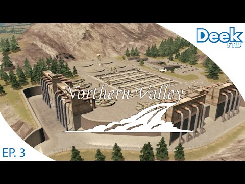 Let's Design Northern Valley Ep.3 - Designing Our Sewage Treatment Facility - Cities Skylines
