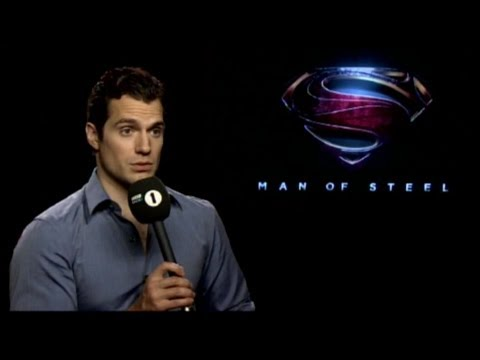 Henry Cavill AWKWARD interview with Nick Grimshaw.