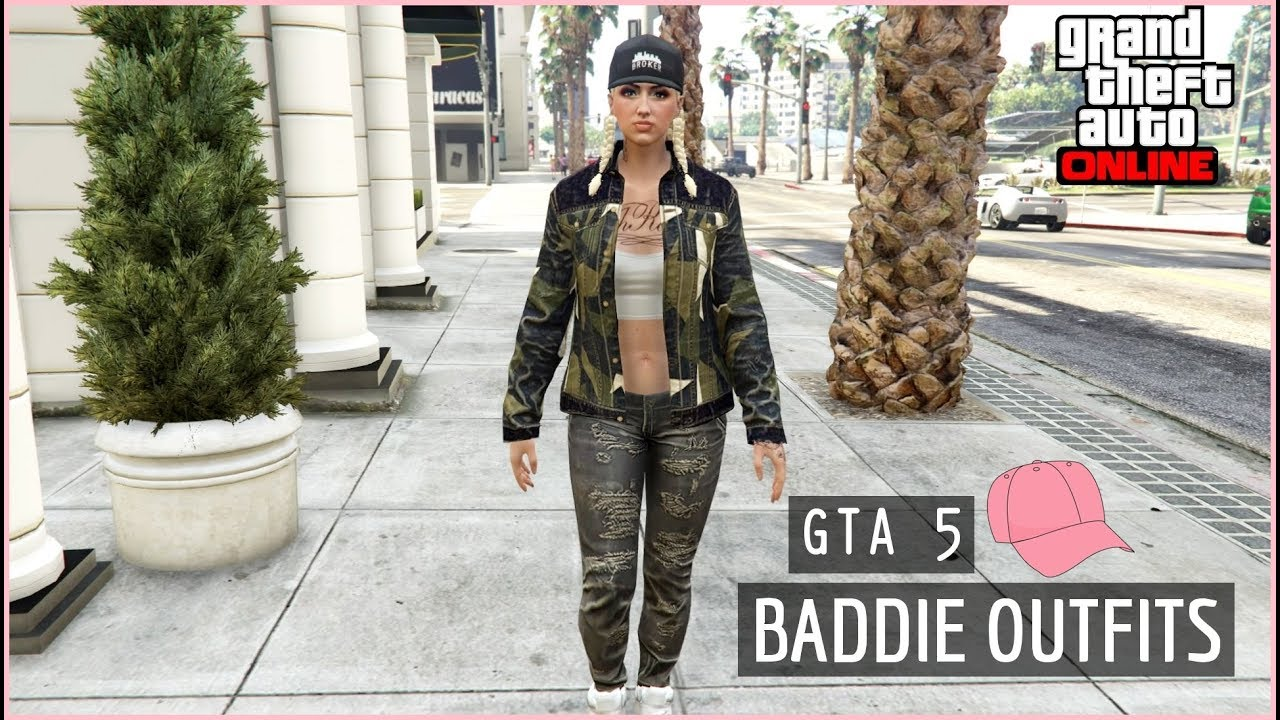 Stream U2661 GTA 5 - Baddie Girl Outfits / Female Outfits U2661 #2093 On Mucis Online