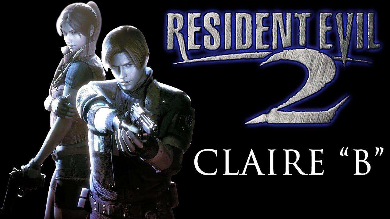 Resident Evil 2 Claire B Full Cutscene Walkthrough Rank A