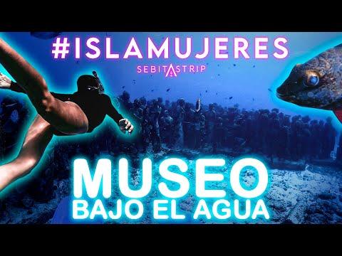 🧜♂️🌎 MUSEO BAJO EL MAR EN ISLA MUJERES ¿PARA QUÉ SIRVE?| MANCHONES | PUNTA SAM | NIZUC@sebitastrip