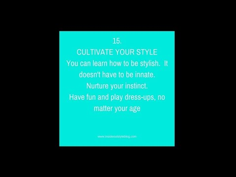 Cultivate Your Style