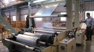 ct tl3 series 3 layer blown film machine