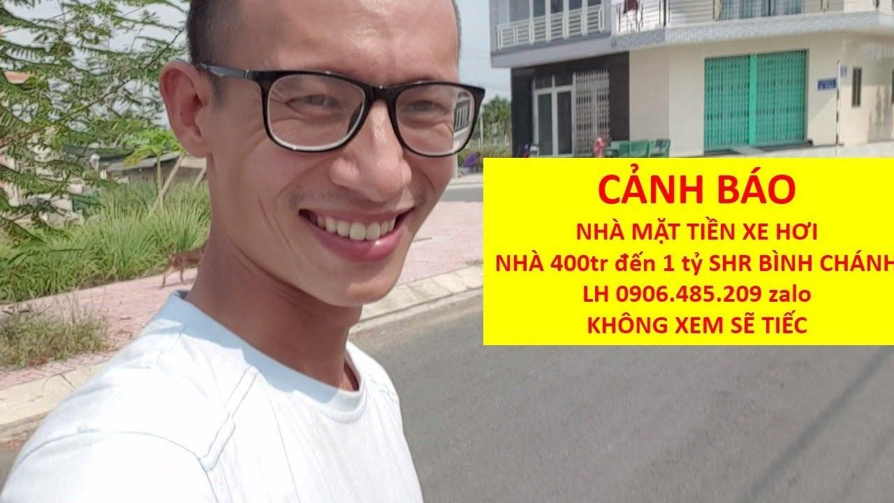 Cảnh báo nhà Mặt tiền xe hơi mà rẻ ở gần chợ Bình Chánh SHR chính chủ LH zalo 0906485209