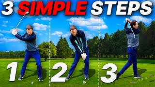 How To Strike Your Irons - Learn to COMPRESS your irons with these 3 SIMPLE GOLF TIPS