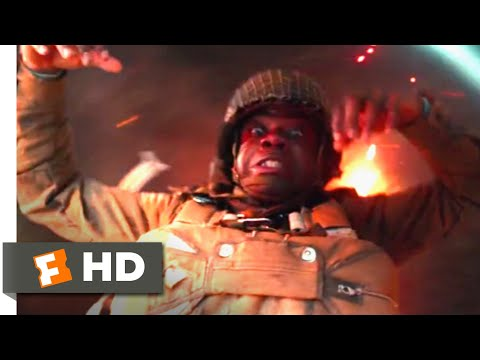 Overlord (2018) - Parachuting into Hell Scene (2/10) | Movieclips