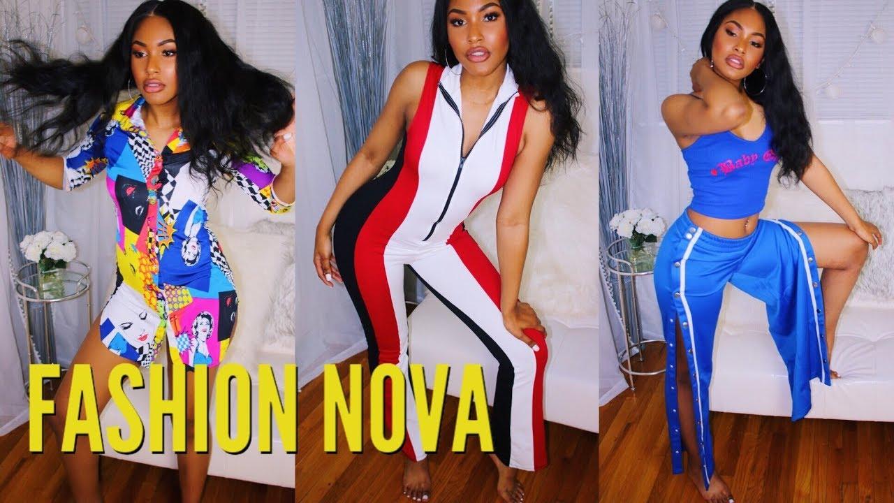 72baa79c7e5 Best Fashion Nova Clothing Try On Haul - YouTube
