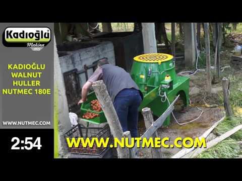 WALNUT HULLING CLEANING MACHINE - 2016 - LONG VERSION