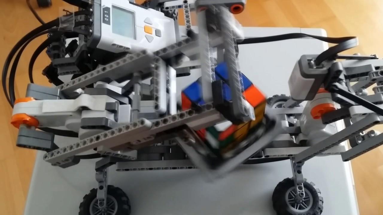 Mindcuber Nxt 20 Rubiks Cube Solver Lego Mindstorms Programming
