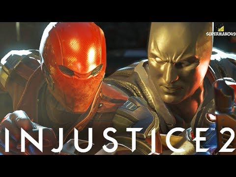 "EPIC BATMAN BEYOND VS RED HOOD BATTLE - Injustice 2 ""Red Hood"" Gameplay Online Ranked"