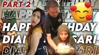 Download TIARA KAGET!!! DIAN DAPAT SURPRISE DARI...... | ULANG TAHUN DIANITA SARI REAL PART 2