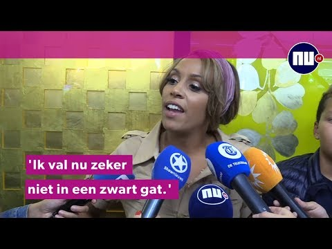 Glennis Grace komt aan op Schiphol: 'Ik ga zeker terug naar de VS'