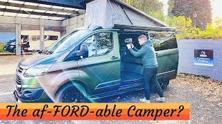 The af-FORD-able CAMPER VAN? Ford Transit Conversion - Wild Camp Quest