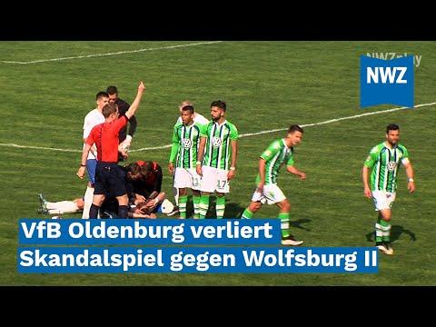 VfB Oldenburg verliert Skandalspiel gegen Wolfsburg II