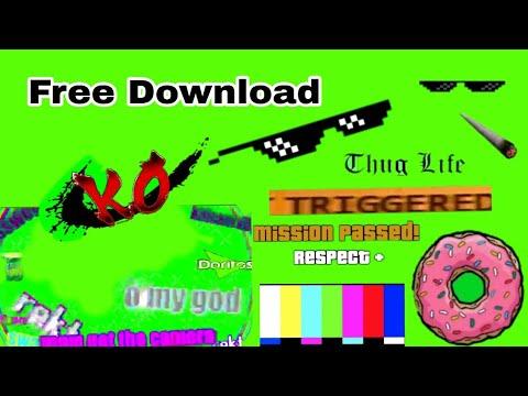 Bagi-bagi Green Screen (Video Effect) GRATIS!!