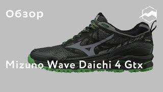 Кроссовки Mizuno Wave Daichi 4 Gtx. Обзор