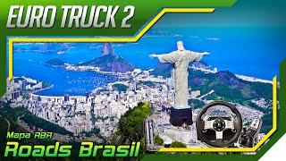 Euro Truck Simulator 2 - Perdido na Cidade do Rio de Janeiro - Mapa RBR