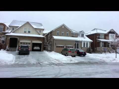 Freezing rain Richmond Hill Toronto GTA Canda