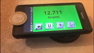 3 Grams Digital Scales App 2019 New Feature Demonstration