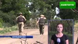 Обстрел украинских силовиков на Донбассе  Война на Украине Новости ЛНР Новости Украины сегодня