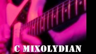 C Mixolydian Guitar Backing Track