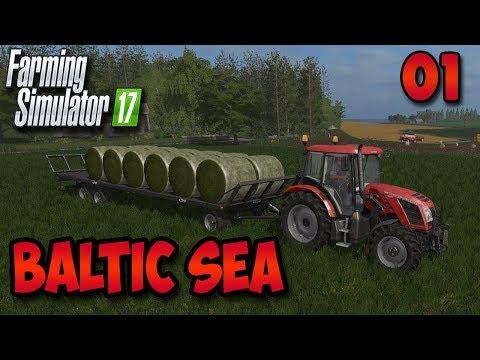 FS17 Timelapse - Baltic Sea #1 | Making Bales | Multiplayer Timelapse
