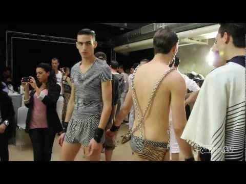 Alexis Mabille me déshabille - Fashion Week - Mode Masculine - PE 2012