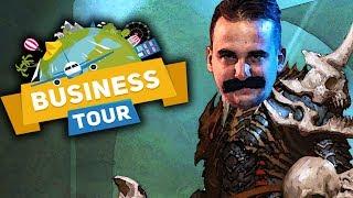 ŁAPCZYWY NEKROMANTA DOBRODZIEJ  - BUSINESS TOUR /Ekipa | Diabeuu