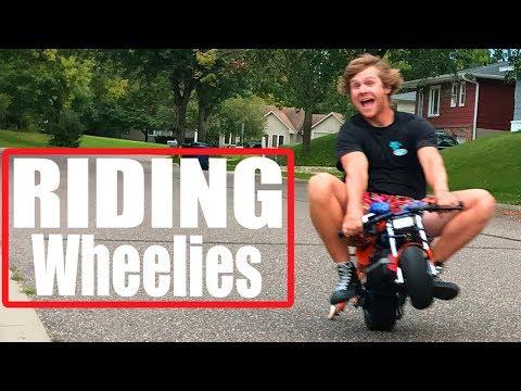 NOS POCKET BIKE Riding Wheelies Now! Ep. 3