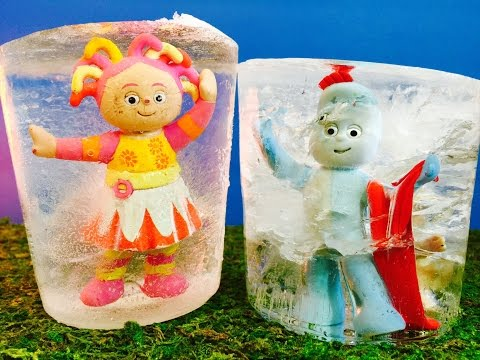 IGGLE PIGGLE and UPSY DAISY Toys Ice Popcicles Melting!