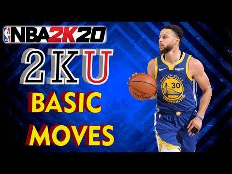 NBA 2K20 DEMO   BASIC MOVES 2KU   PS4 XBOX   NBA 2K TUTES